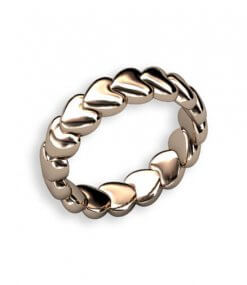 Eternity guldring 18 k