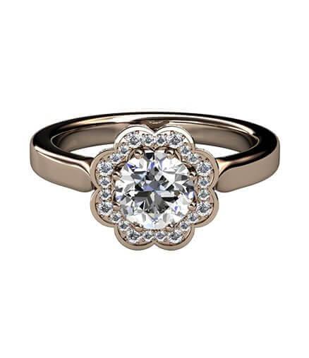 haloring med diamanter