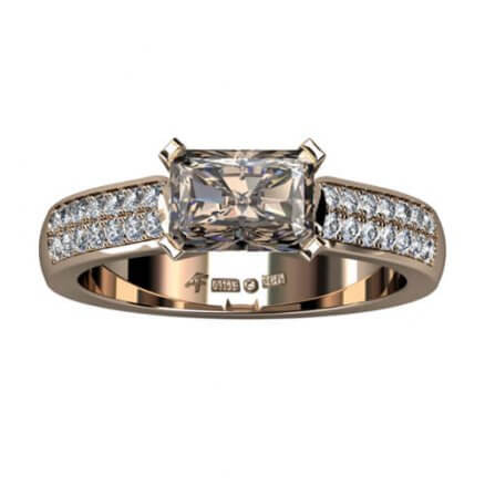 2 radig diamantring