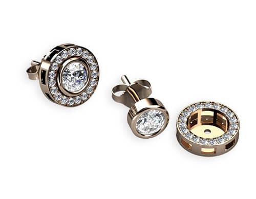 exklusiva smycken stockholm diamantörhänge