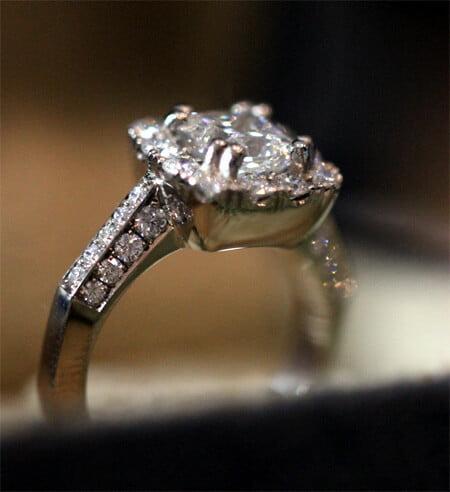 unik diamantring