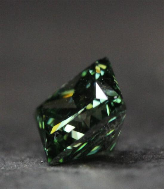gröna diamanter
