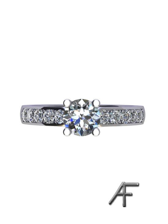enstensring med diamant