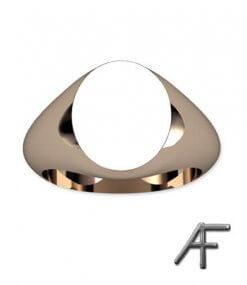 klackring guld oval