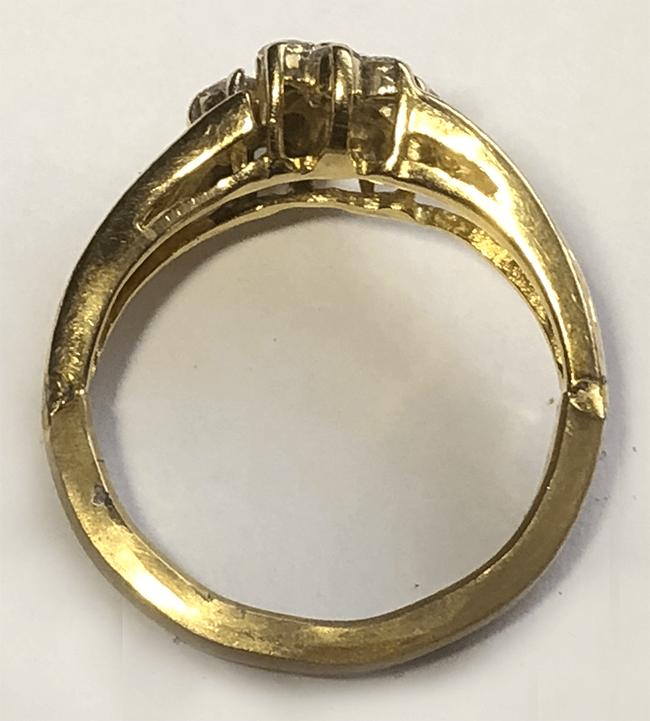 ny ringskena på diamantring