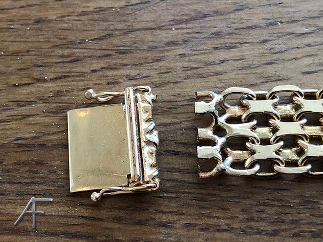 kortning guldarmband 2 cm
