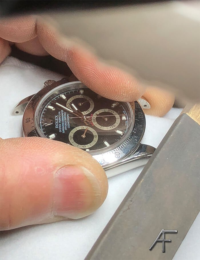 finischering Rolex