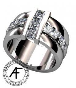 brygga flandernslipade diamanter