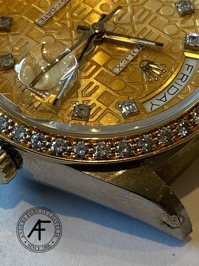 Lasersvetsning bandhorn Rolex