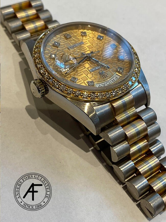 Guld Rolex lagas