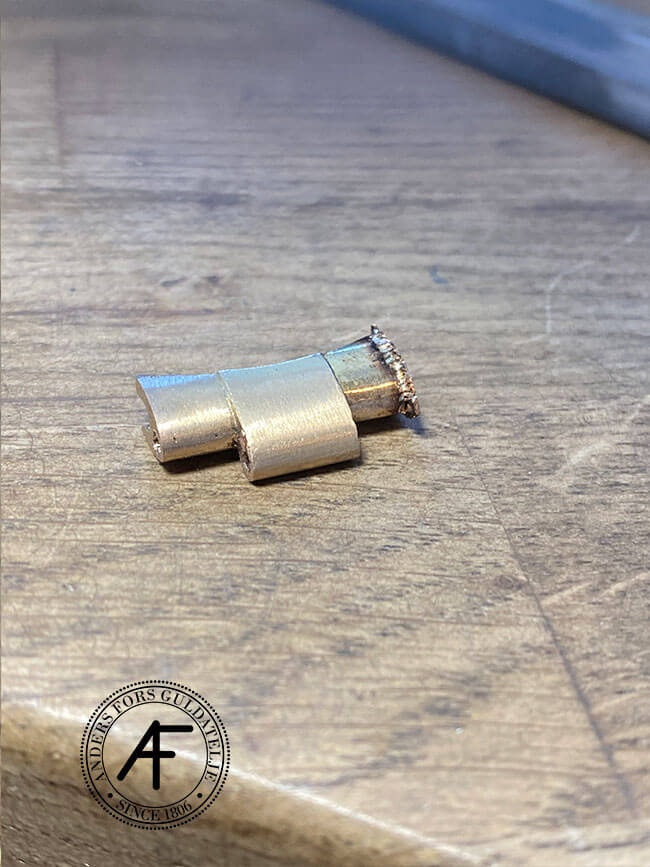 förstärkning av ändlänkar guld Rolex