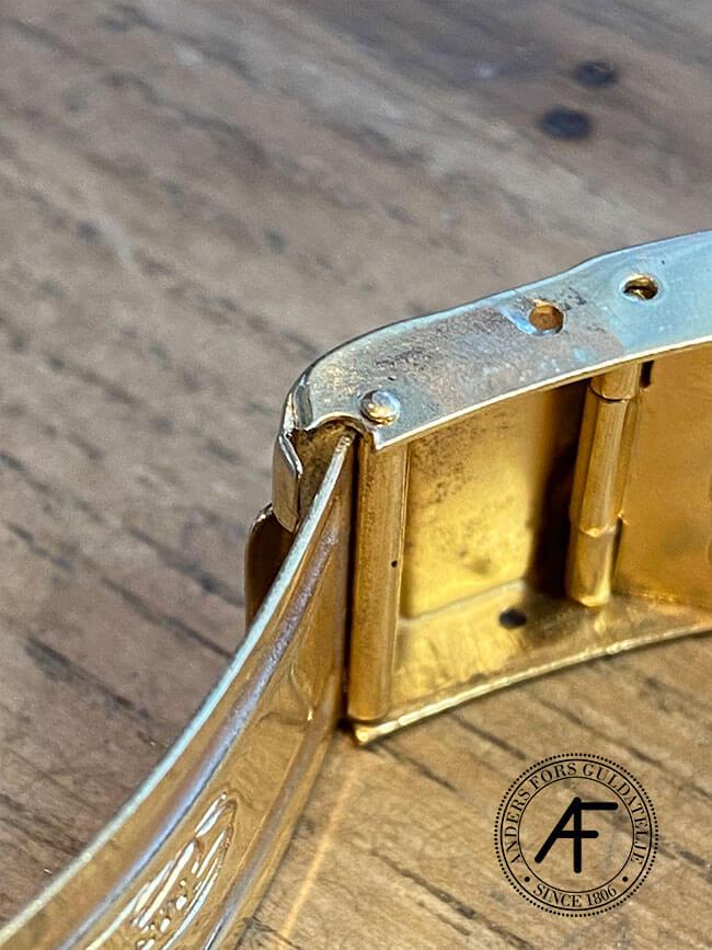 slitet lås på Rolex Oyster Perpetual