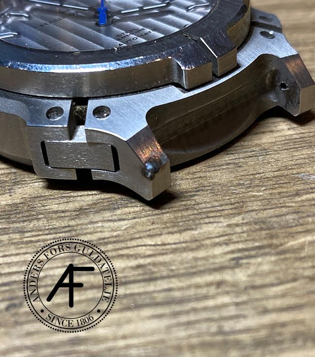 lasersvetsning boetthorn klocka